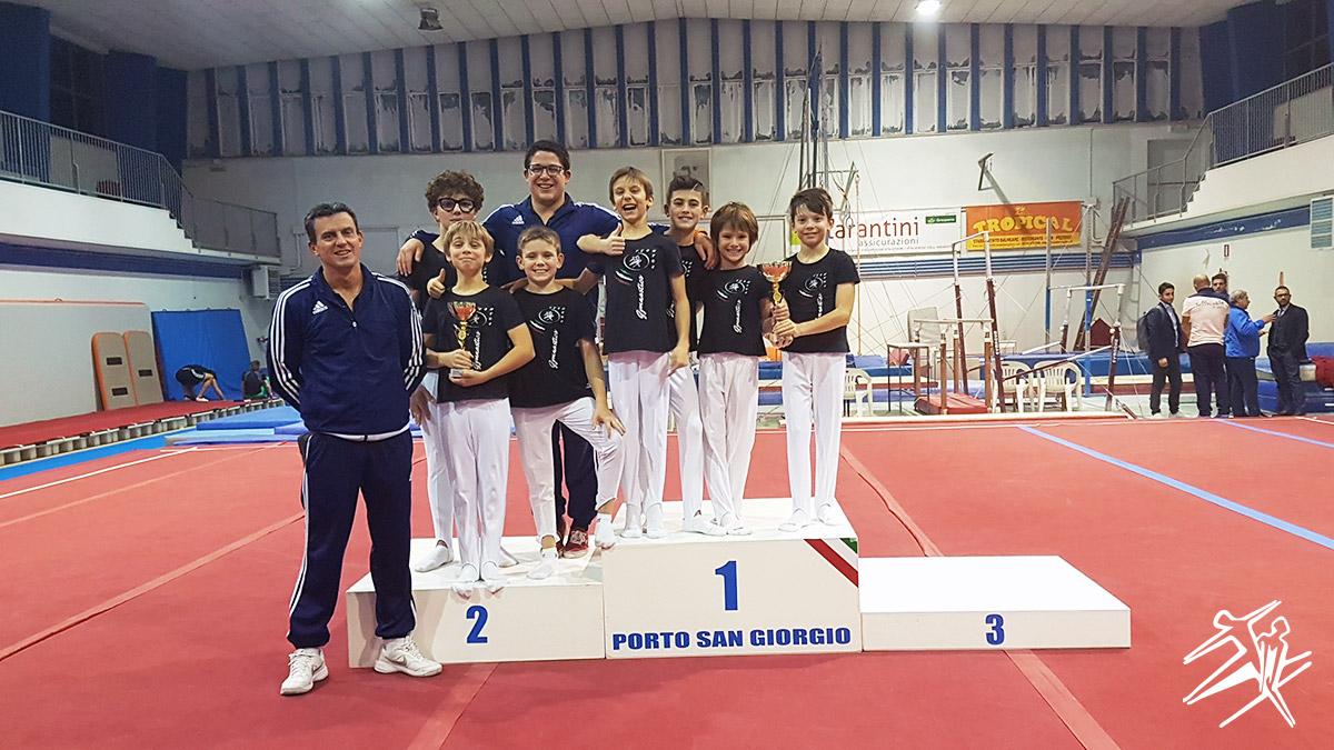 Ginnastica Meda 1° e 2° posto Finale Nazionale Torneo delle Regioni